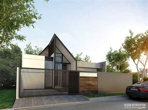 gambar desain rumah minimalis  warna cat wallpaper