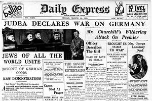 American Express Germany : judea declares war on germany daily express march 24 1933 ~ Eleganceandgraceweddings.com Haus und Dekorationen