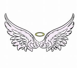 How to Draw Angel Wings in a Few Easy Steps Easy Drawing