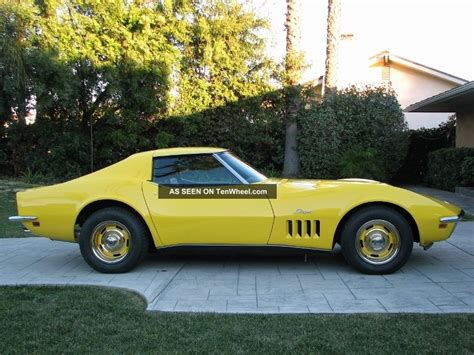 Boat T Top Dodge by 1969 Corvette Stingray Big Block 4 Speed T Top With
