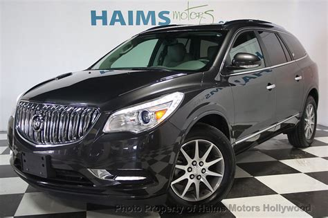 Buick Enclave 2014 Used by 2014 Used Buick Enclave Awd 4dr Leather At Haims Motors