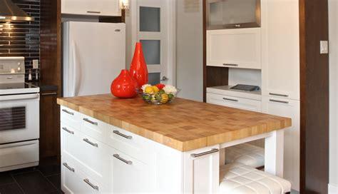 comptoir bois cuisine comptoirs en bois signature stéphane dion