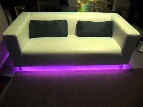 Led Lights Color Changing Under Sofa Youtube