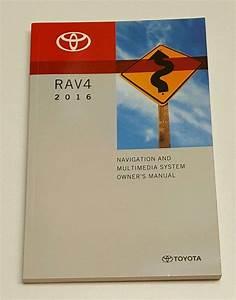 2016 Toyota Rav4 Navigation System Owner U0026 39 S Manual