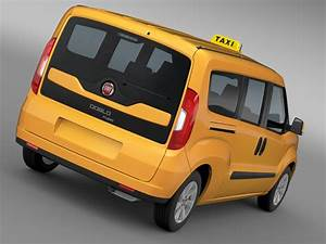 Fiat Doblo : fiat doblo maxi taxi 152 2015 3d model buy fiat doblo ~ Gottalentnigeria.com Avis de Voitures