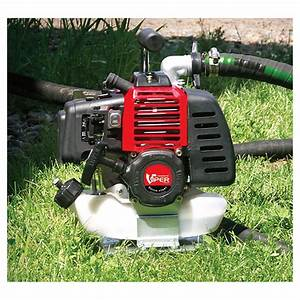 Earthquake Wp4310 Centrifugal Water Pump With 43cc Viper
