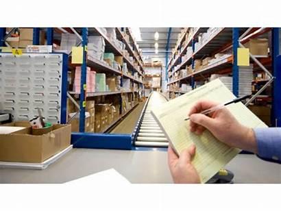 Clerk Scanners Receiving Warehouse