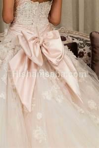 wedding lights bow wedding gown baxk 2057649 weddbook With wedding dresses with bows
