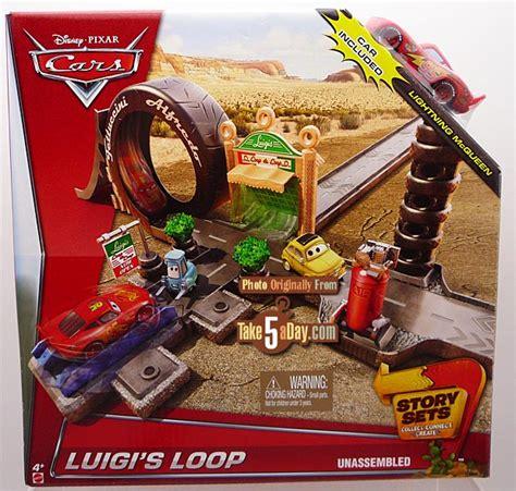 Takes Oakland Stories Boxed Set by Mattel Disney Pixar Cars Luigi S Loop Story Set Contest