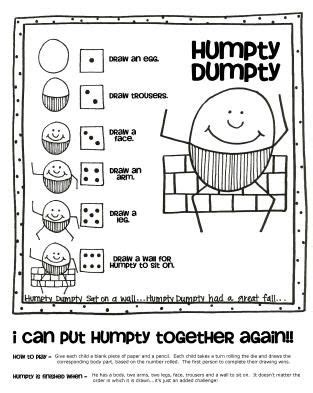 humpty dumpty lesson ideas nursery rhymes and 987 | d41413d52913b9a16b310b893ea70b00