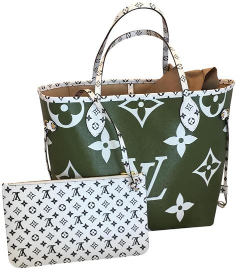 louis vuitton neverfull giant monogram canvas tote tradesy
