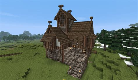 Medieval House #1  By Heartcraft Minecraft Project