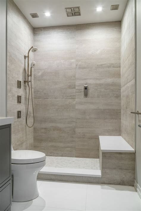 Wall Tile Designs Bathroom by Apartment Bathroom Design With Shower Panels On Wall Tiles