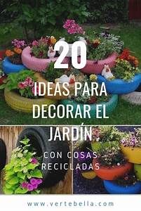 20, Ideas, Para, Decorar, El, Jard, U00edn, Con, Cosas, Recicladas