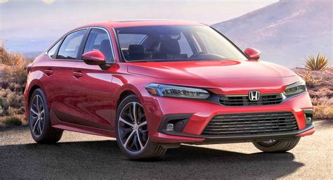 2022 Honda Civic Production Spec Revealed In New Photo
