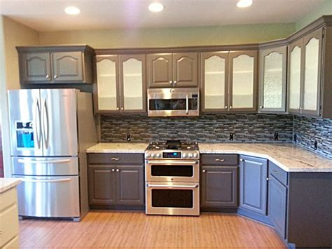 refinishing painting kitchen cabinets cabinet refinishing painting restoration san jose 4676