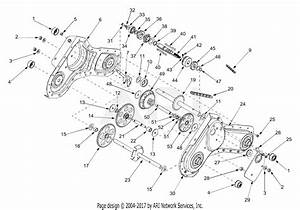 Mtd 21aa413b729  2004  Parts Diagram For Transmission Assembly