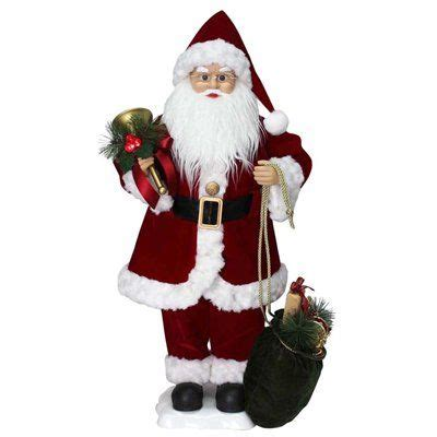 holiday living animated musical santa indoor christmas