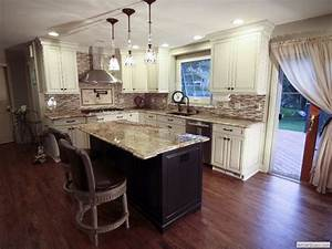 Kitchens with Off White Cabinets - Home Furniture Design