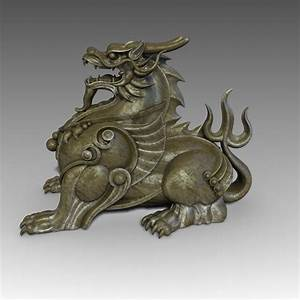 Chinese Supernatural Beast Pixiu 3D Model Game Ready Max