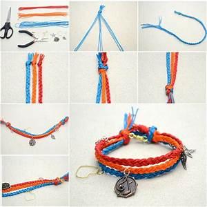 Fabriquer Un String : how to diy multi strand macrame friendship bracelet ~ Zukunftsfamilie.com Idées de Décoration