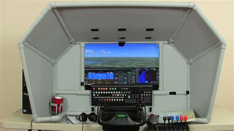 home flight simulator diy universal general aviation cockpit