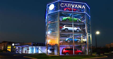 carvana   car vending machine insidehook