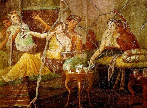 Banchetto Romano L Arte Di Apparecchiare La Tavola Storia Dei Riti E Delle