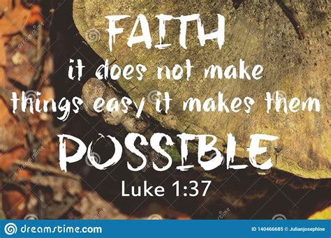 Let these inspirational quotes about god inspire you to put your trust and have faith in him. Faith Bible Verse Design For Christianity With Nature Background. Stock Image - Image of ...