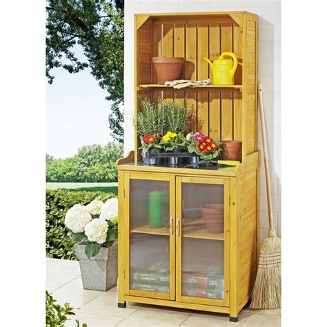 armadietto esterno armadietto da esterno in legno per giardinaggio con mensole