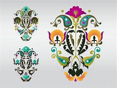 Floral Colorful Designs Vector Abstract Flowers Freevector