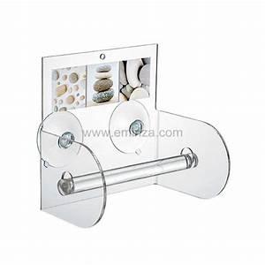 Porte Papier Toilette Design : porte papier toilettes galet taupe porte papier toilette ~ Premium-room.com Idées de Décoration