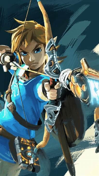 Zelda Breath Wild Legend Link Iphone Pc