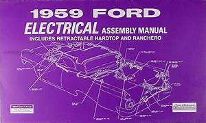 Ford Standard Service Manuals