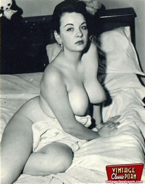 Vintage Brunette Big Tits