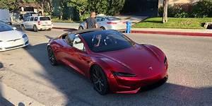 First next-gen Tesla Roadster sighting in the wild - prototype apparently breaks down [Updated ...