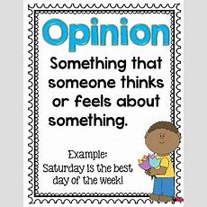 Fact And Opinion Posters Free By Createabilities Tpt