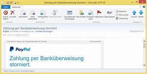 Paypal Zahlung Nicht Möglich : zahlung per bank berweisung storniert von paypal ist phishing ~ Eleganceandgraceweddings.com Haus und Dekorationen
