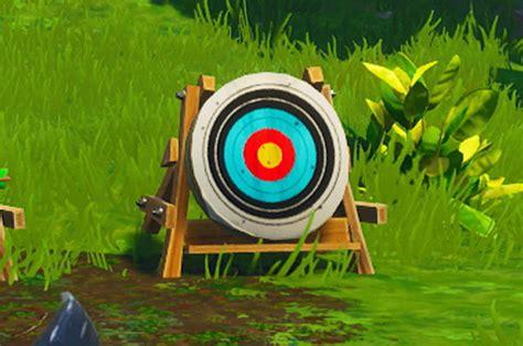 fortnite shooting galleries shoot  targets