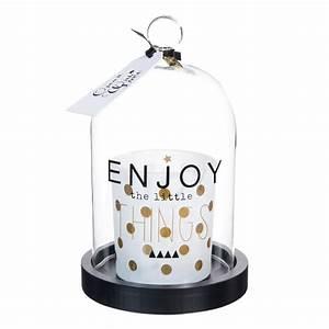Cloche En Verre Ikea : bougie sous cloche en verre h 18 cm enjoy nid douillet ~ Dailycaller-alerts.com Idées de Décoration