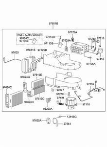 Hyundai Santa Fe Thermistor  Systemevap  Rtypbtn