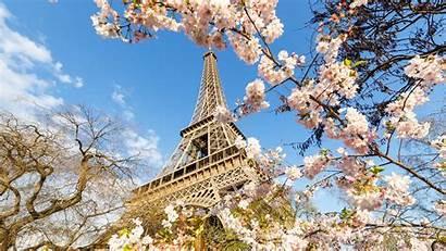 Eiffel Paris Tower Spring Torre Desktop France