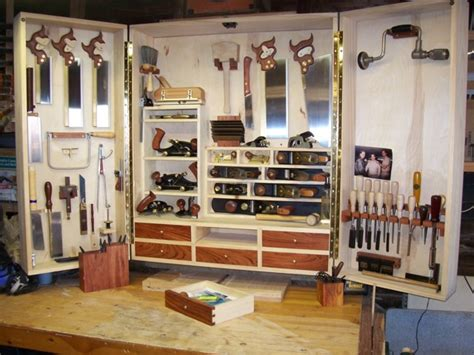 hanging hand tool cabinet finewoodworking