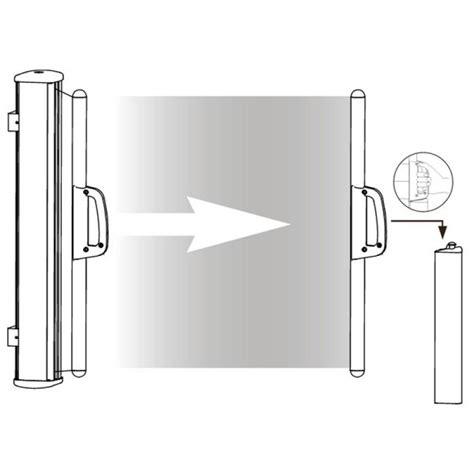 Seitenmarkise 180 X 350 by Br 252 Gmann Seitenmarkise Zum Ausziehen Sand 180 X 350 Cm