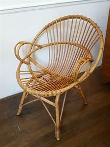 Fauteuil En Osier : fauteuils en rotin fauteuil vintage fauteuil en osier ~ Melissatoandfro.com Idées de Décoration