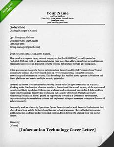 how to write a professional cover letter 40 templates With sample cover letter for internship in information technology