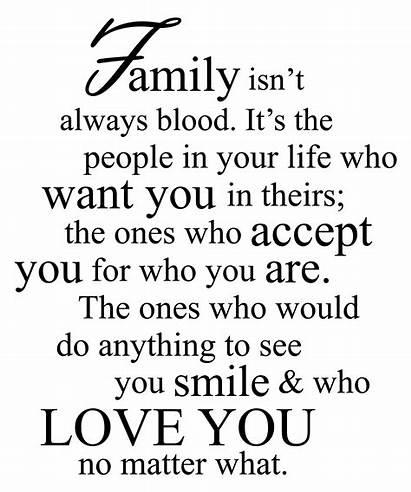 Quotes Blood Always Isn Isnt Words Believe