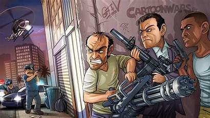 Theft Grand Desktop Wallpapers Baltana Games