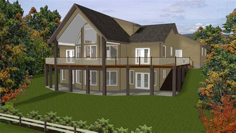 Walk Out Basement Plans by 48 Images Of Craftsman House Plans With Walkout Basement