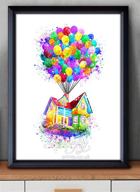 Haus Oben Zeichnen disney pixar up balloons clipart collection
